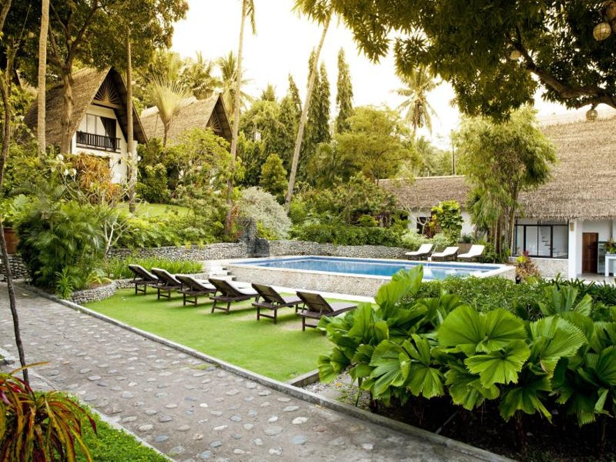 Poolside of Buri Resort & Spa