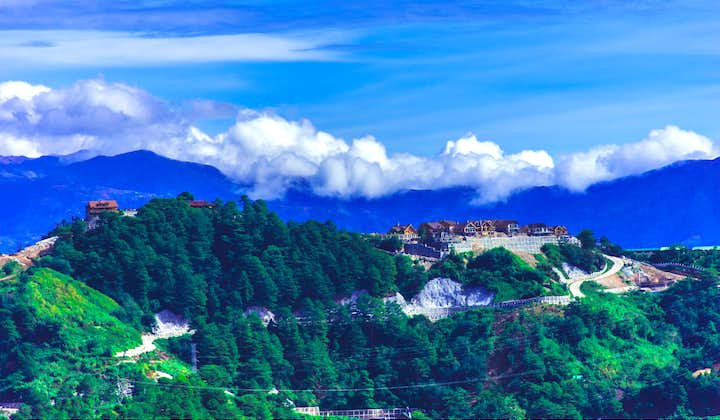 Scenic view of mountains in Baguio City