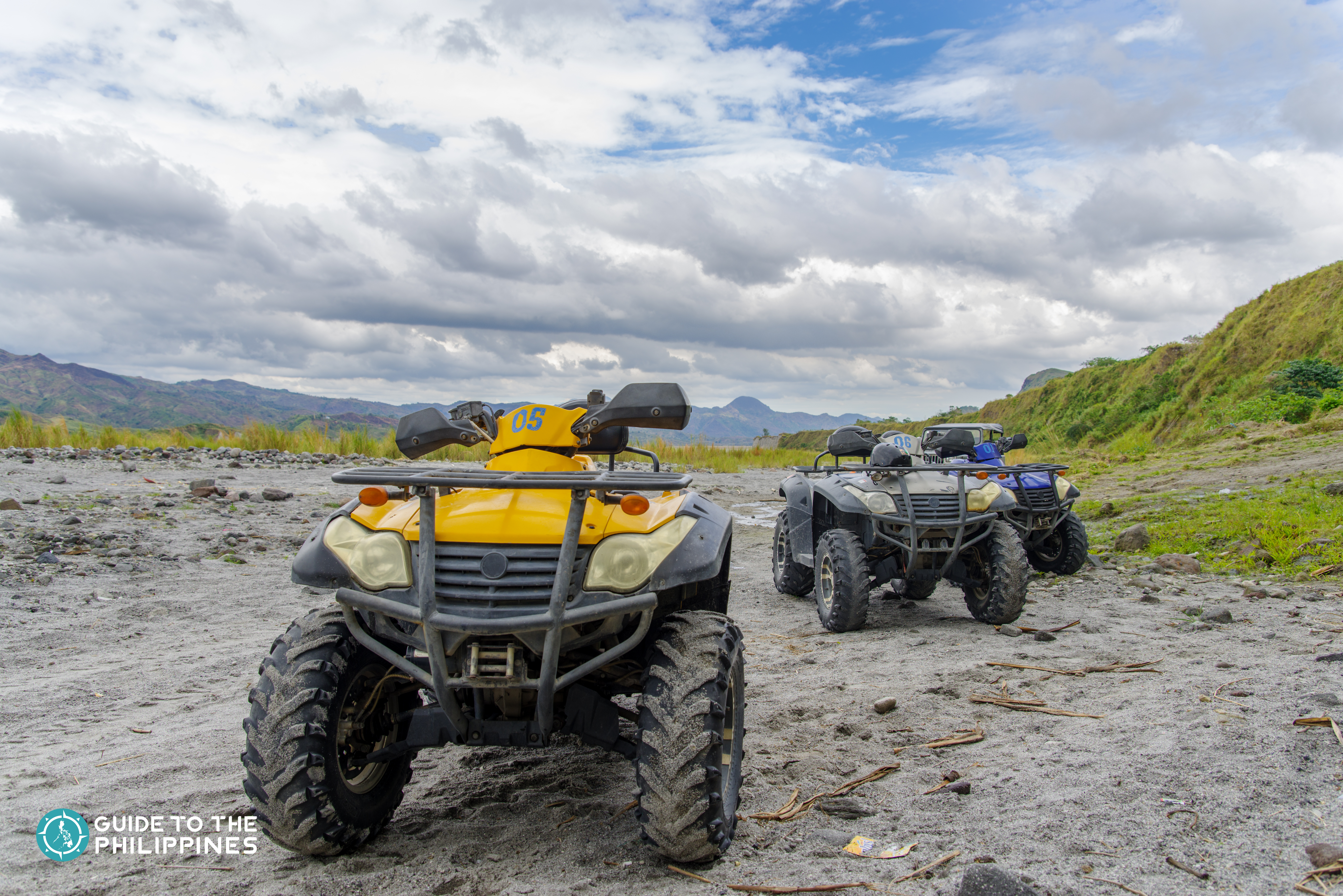 4x4 vehicles in Mt. Pinatubo