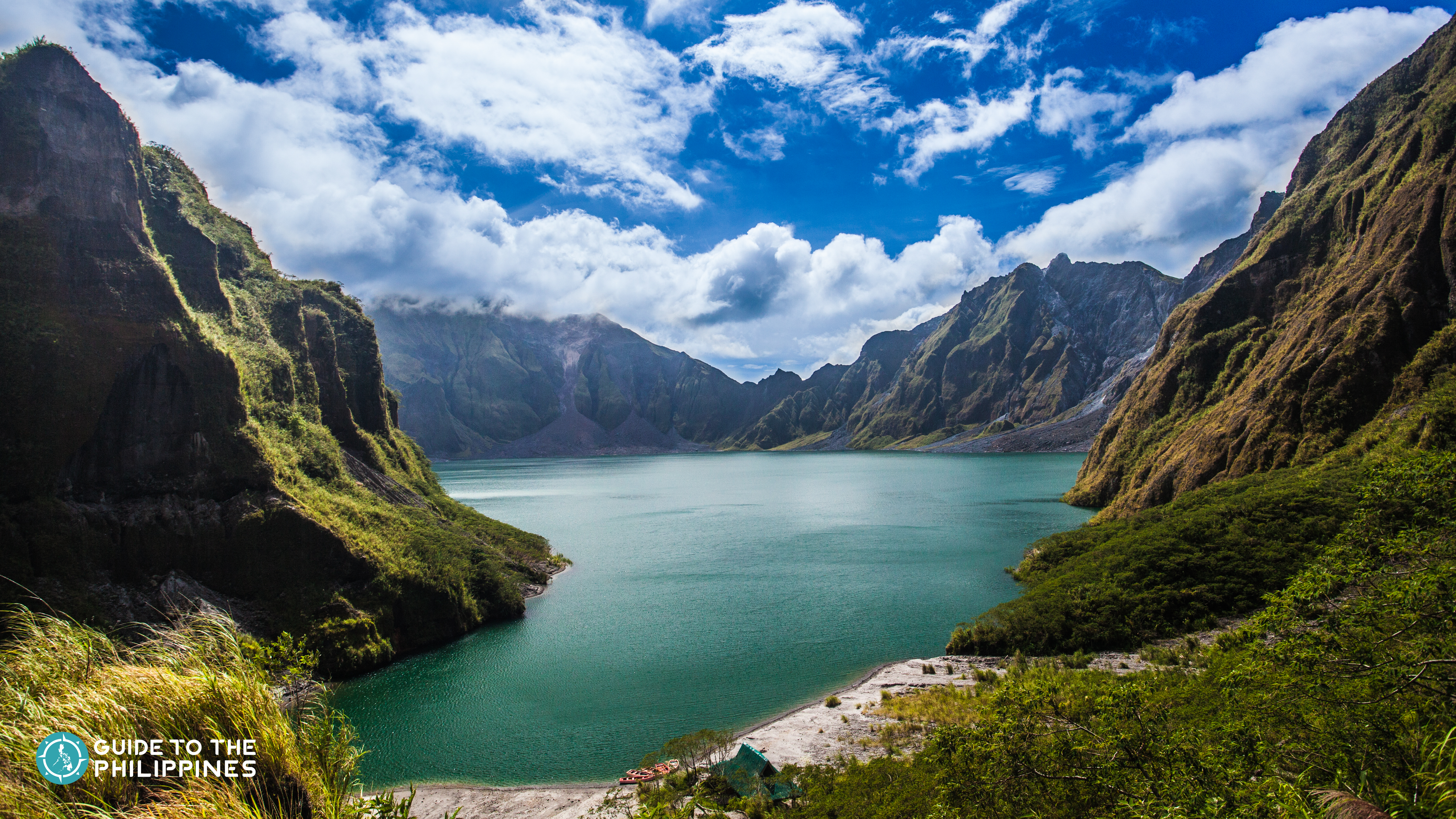 View of the Mt. Pinatubo Crater Lake