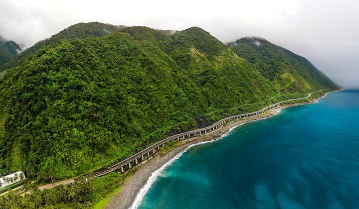 Aerial view of Patapat Viaduct in Ilocos
