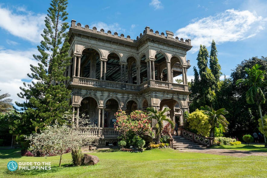 Exterior of The Ruins in Negros Occidental