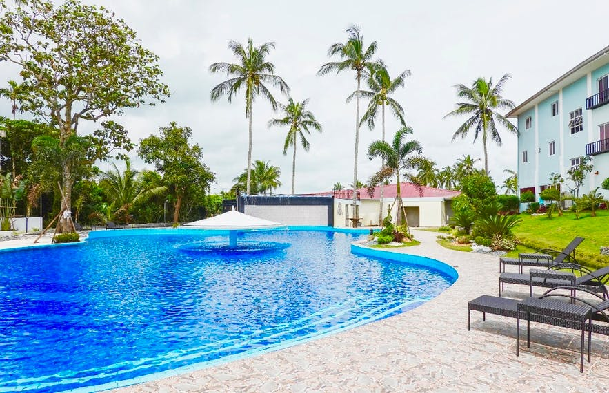 The poolside of Starview Hotel and Resort