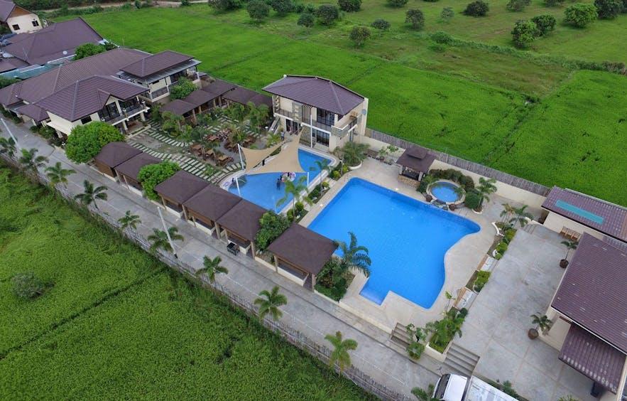 Aerial view of Chingu Hidden Paradise Garden & Resort