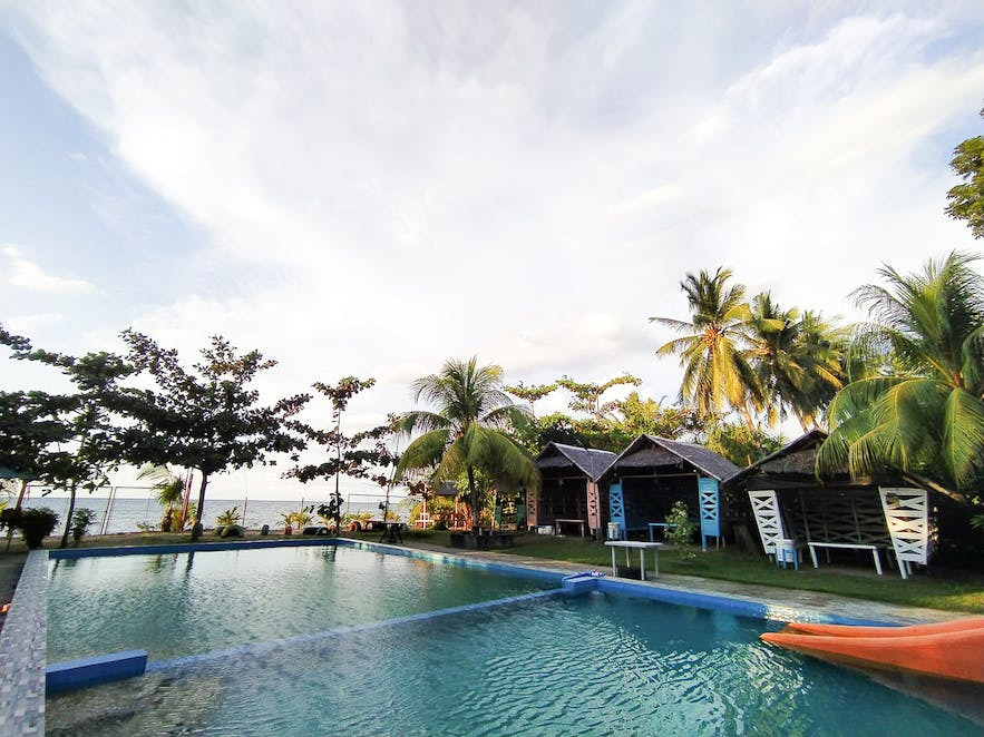Pool area of Nature's View Resort