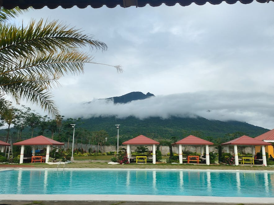 View by the pool of Alaya Garden Resort