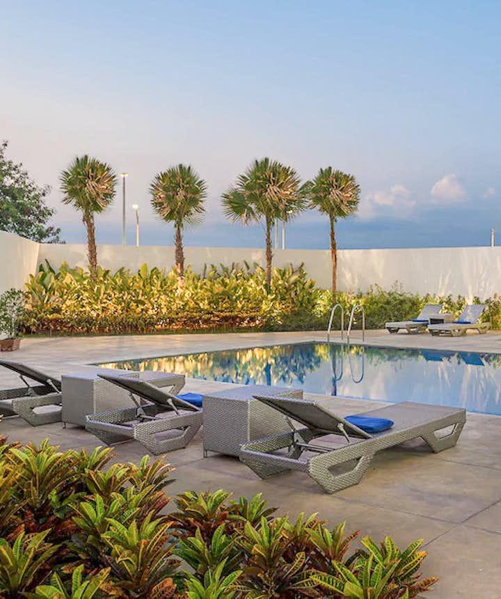 Poolside of Park Inn Hotel by Raddison Clark