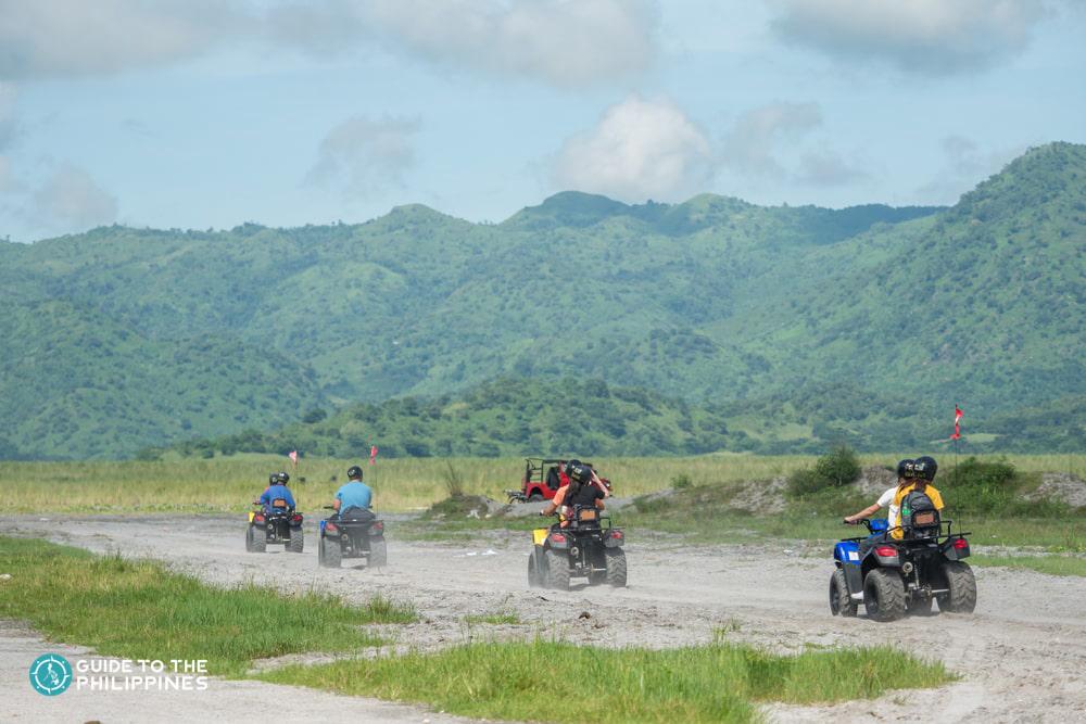 ATV Ride in Mt .Pinatubo