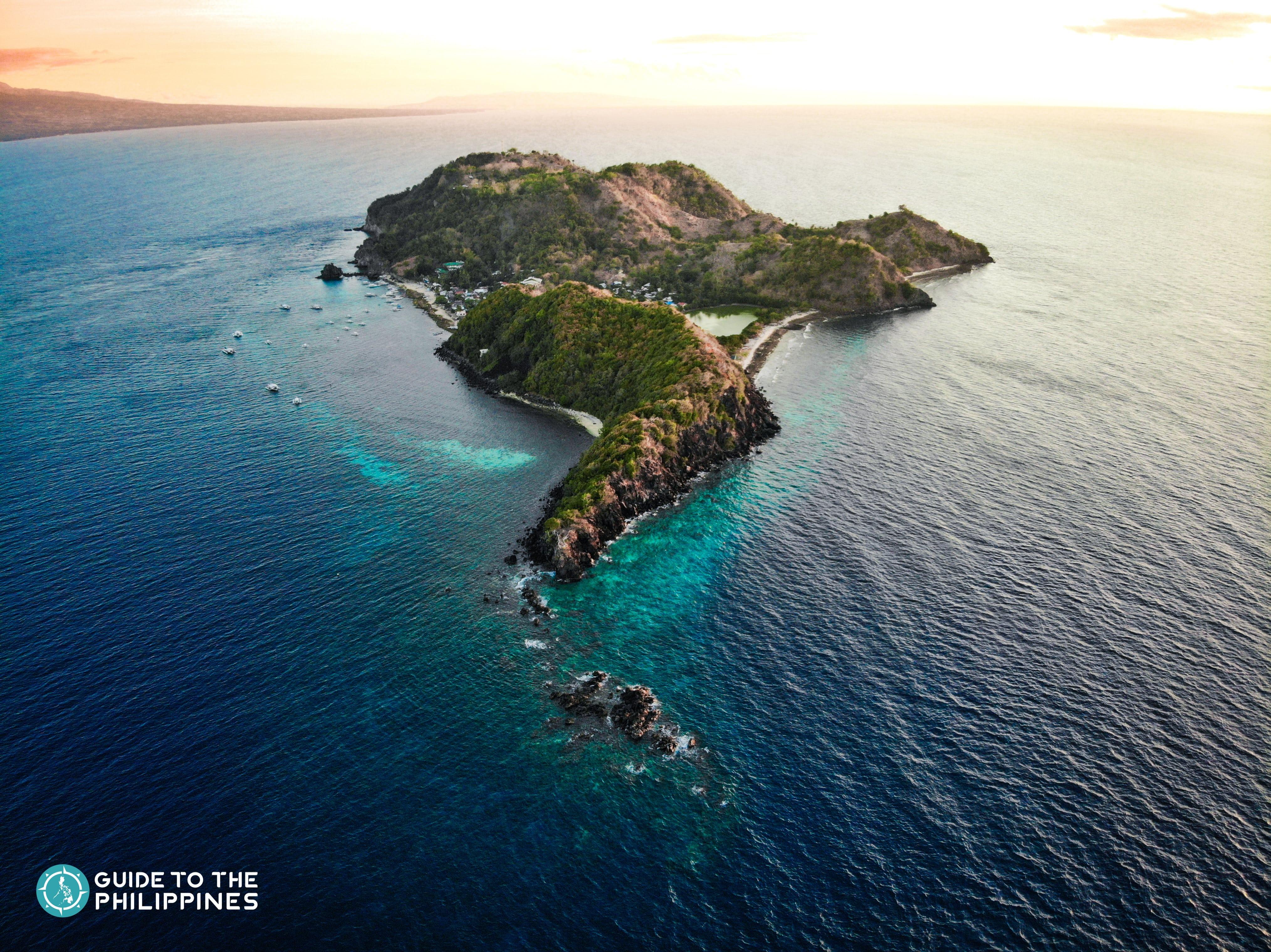 Sunset in Apo Island Dumaguete
