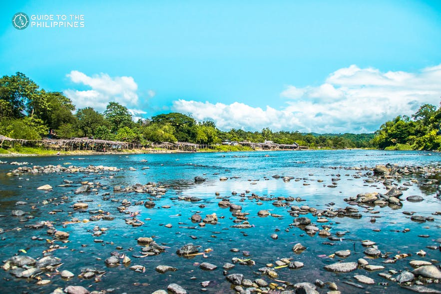 View of Bakas River in Bulacan