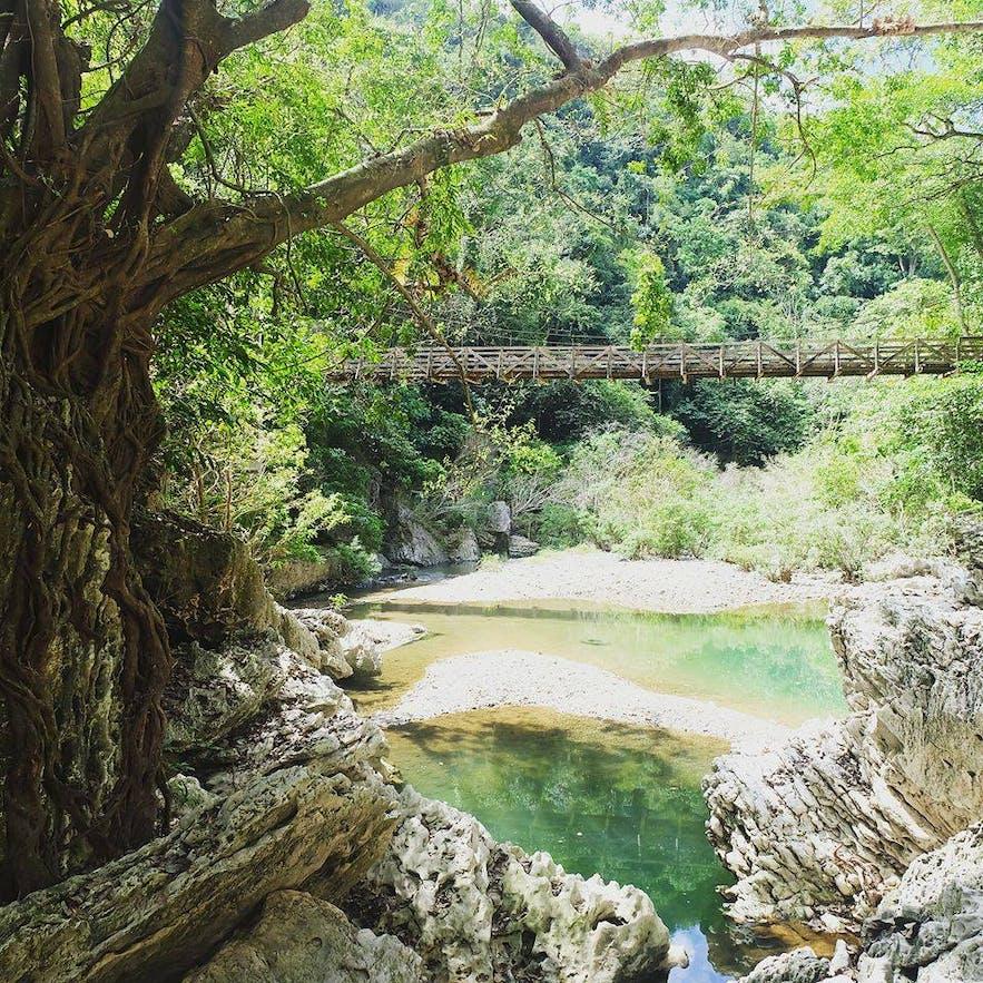 Lake in Biak-Na-Bato National Park
