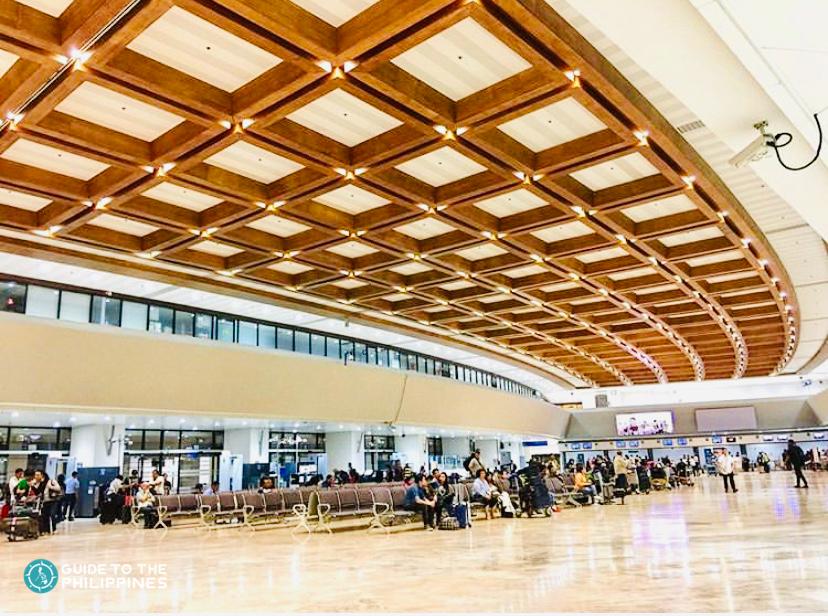 Waiting area at the Terminal 1 of NAIA