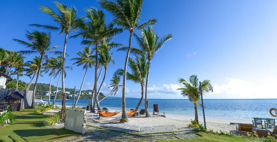 Beachfront of 7Stones Boracay