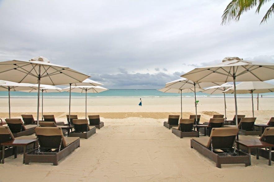 Two Seasons Boracay Resort's beachfront