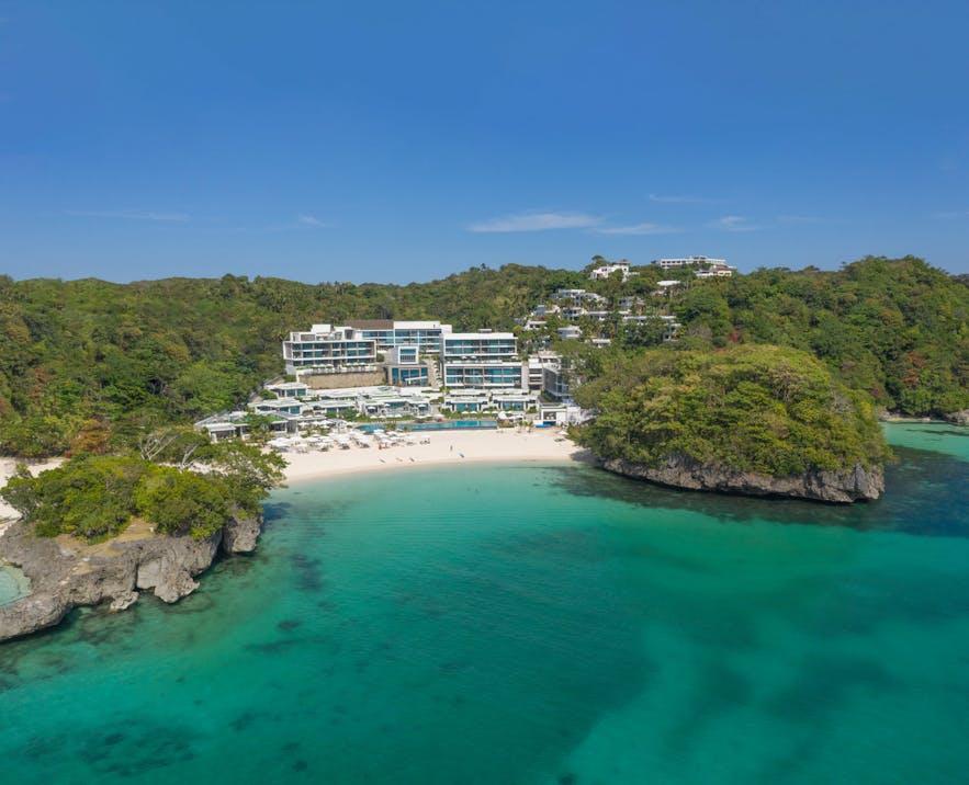 Aerial view of Crimson Resort & Spa Boracay