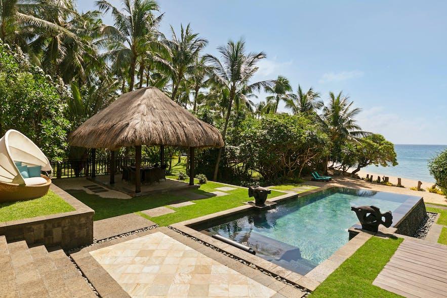 A beachfront villa in Shangri-la Boracay