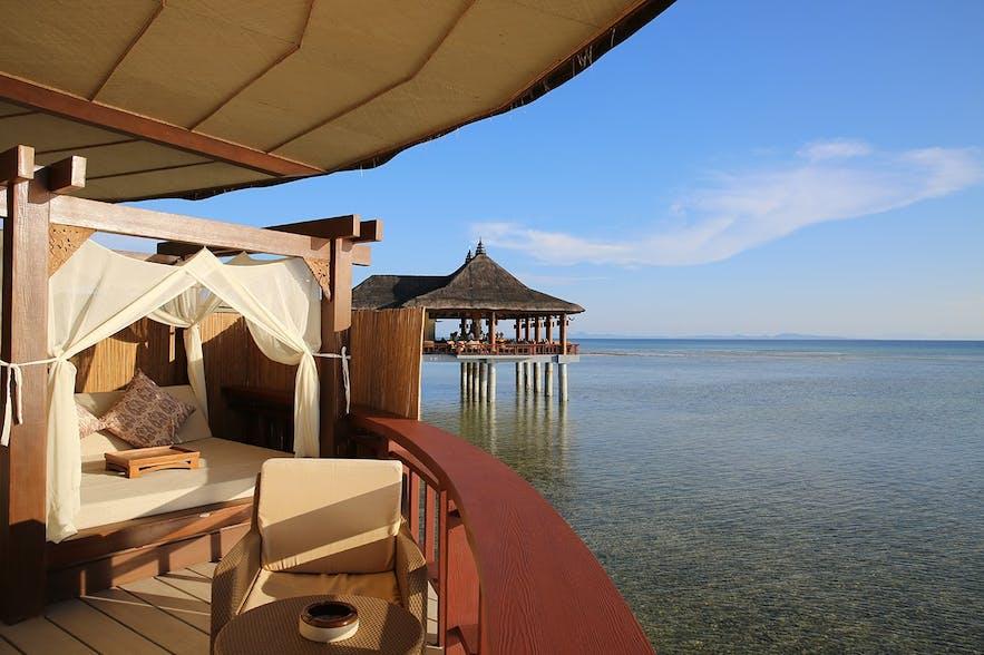 Bali villas in Balesin Island Club