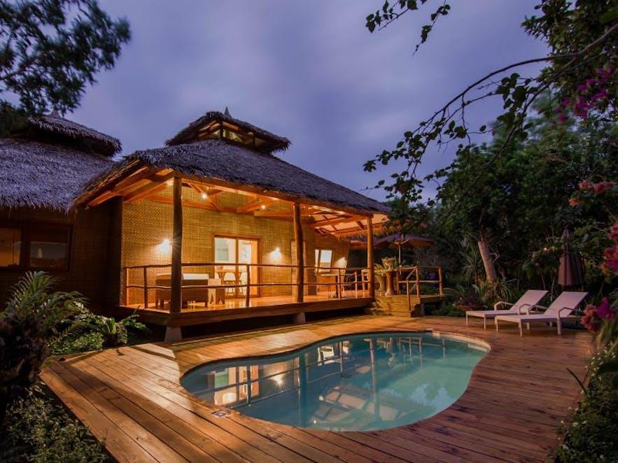 A villa in Donatella Resort and Sanctuary