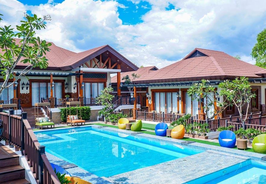Poolside of Highland Bali Villas Resort and Spa