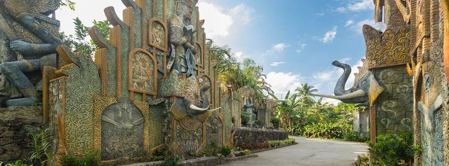The Elephant portal in Cintai Corito's Garden