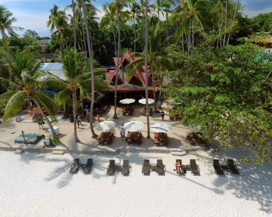 Beachfront of Pyramid Beach Resort