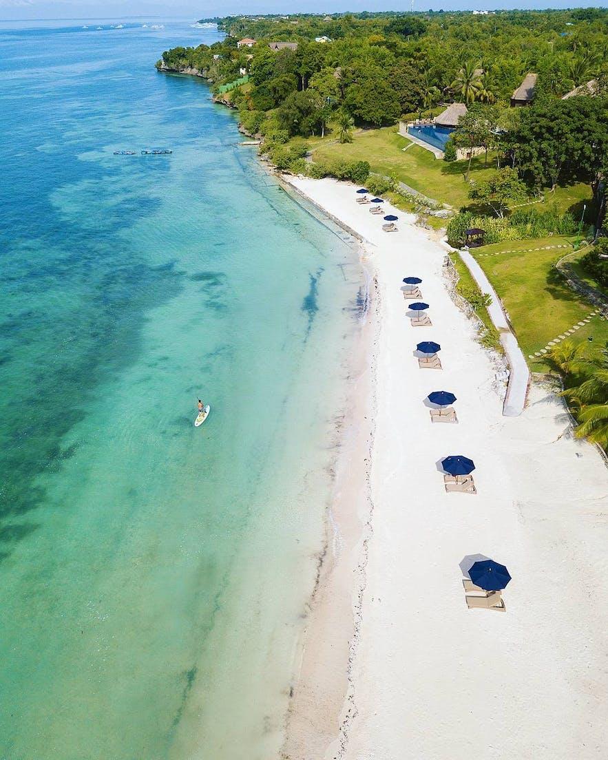 Beachfront of Eskaya Beach Resort & Spa