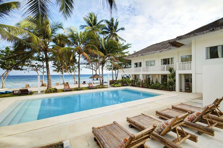 Poolside of Momo Beach House