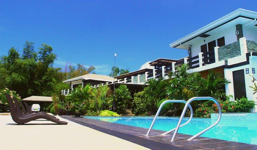 Pool area of La Pernela Resort