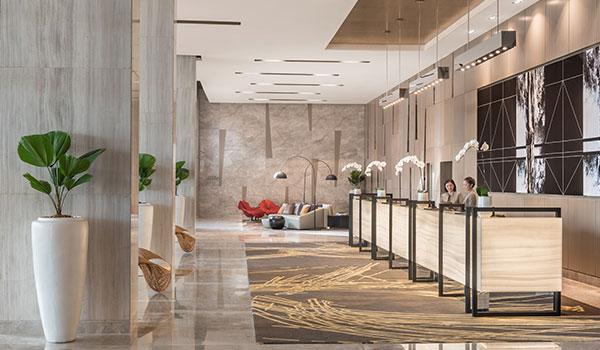 Lobby of Seda Vertis North