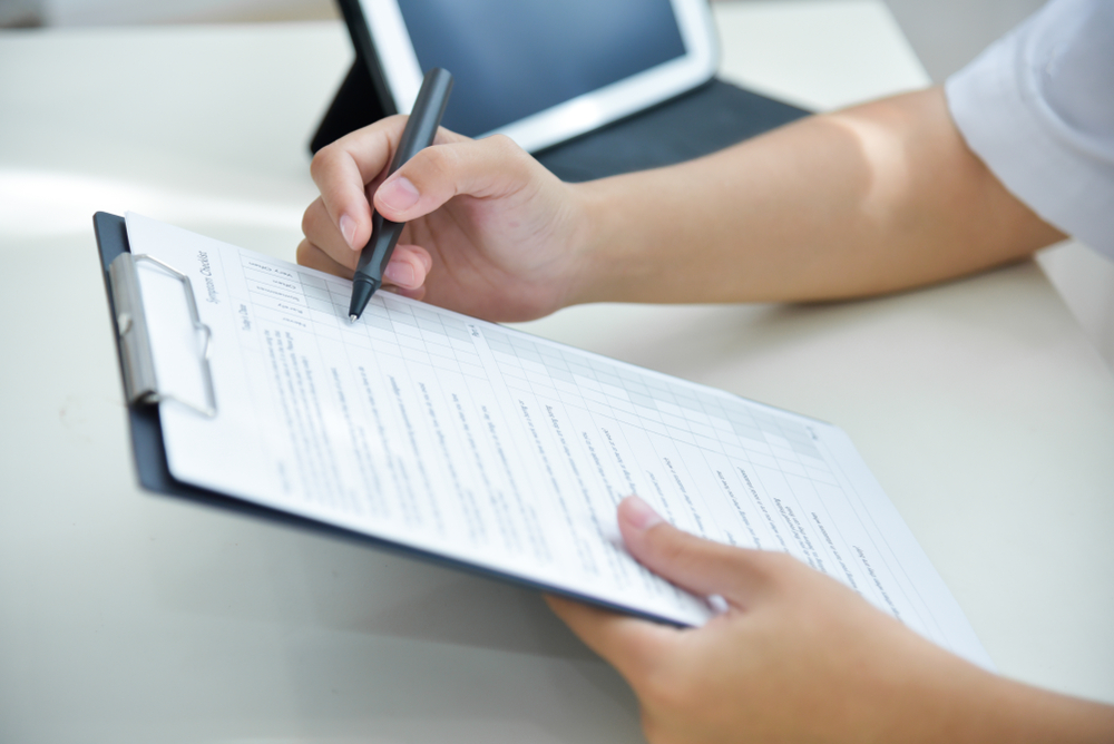 Health Assessment Checklist from an accredited RT-PCR lab