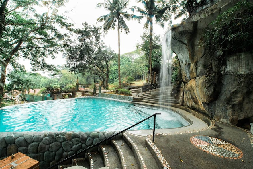 One of the pools in Cristina Villas Mountain Resort