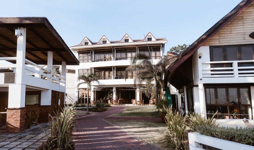 Facade of San Juan Surf Resort