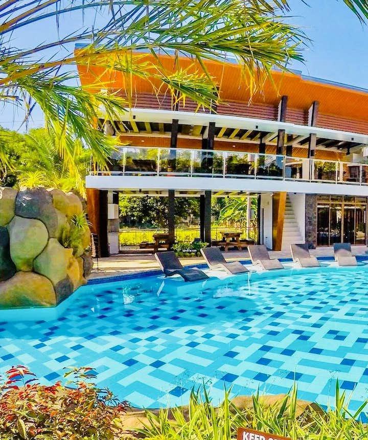Poolside of Calinisan Beach Resort