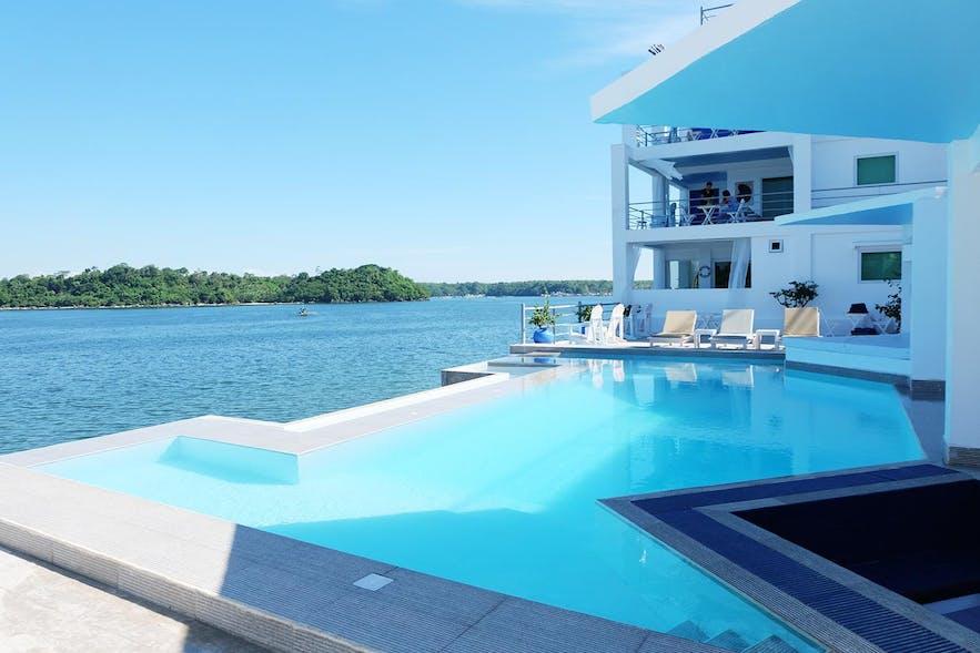 Poolside of Sundowners Vacation Villas Bolinao