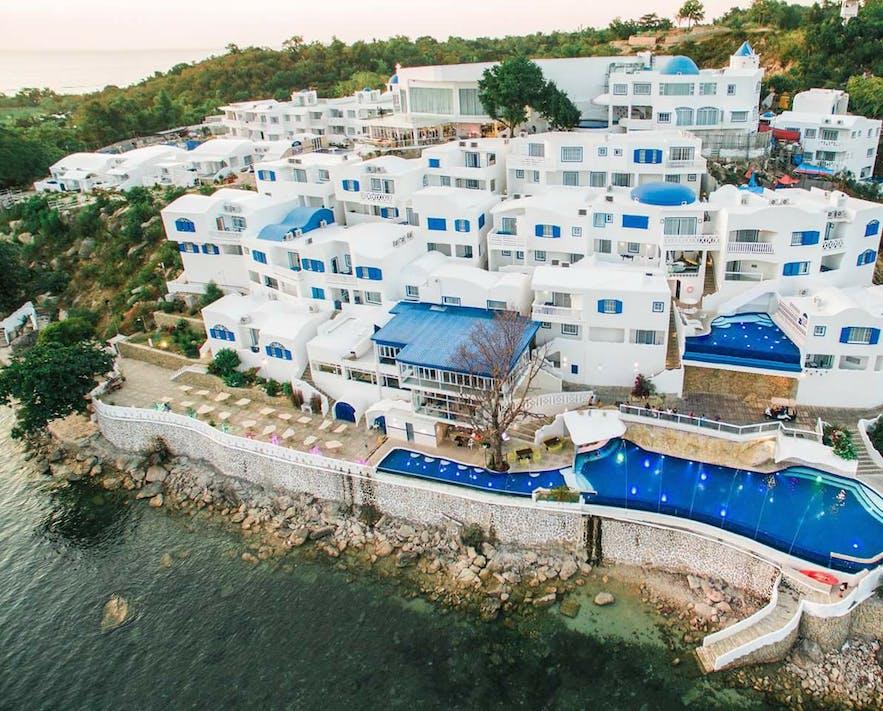 Aerial view of Vitalis Villas