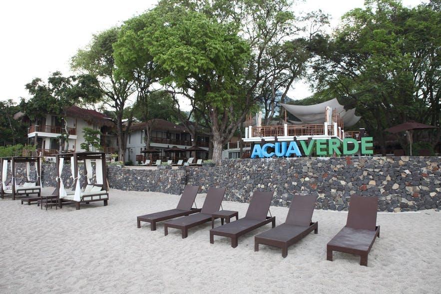 Beachfront of Acuaverde Beach Resort