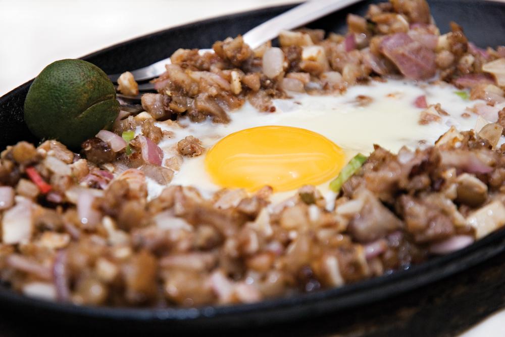 Sisig, one of Pampanga's most popular dishes