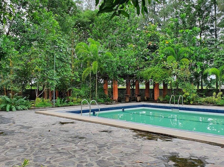 Poolside of Diaspora Farm Resort