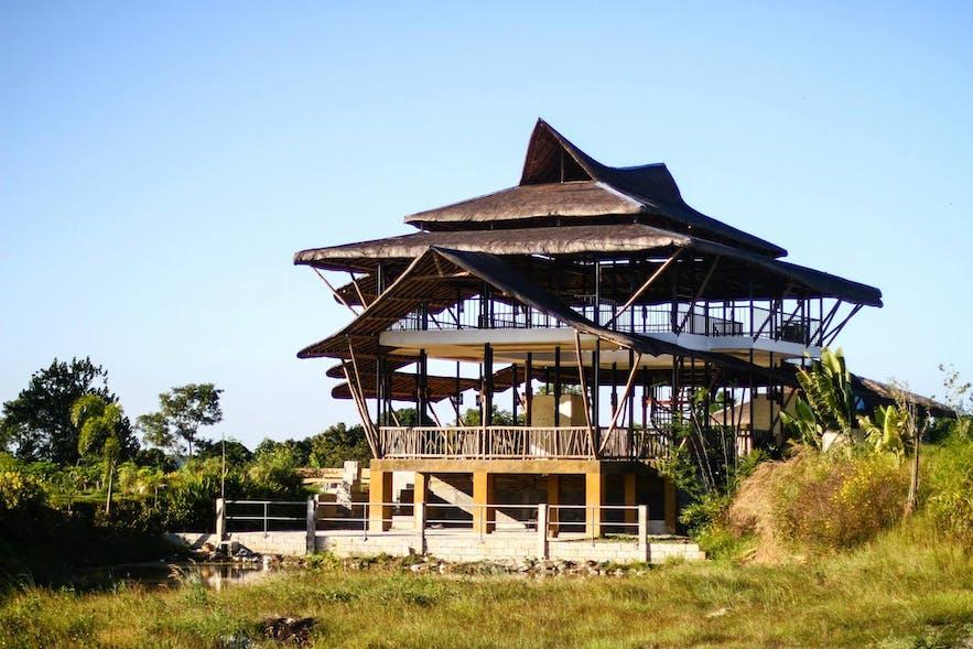 Bamboo palace in GK Enchanted Farm