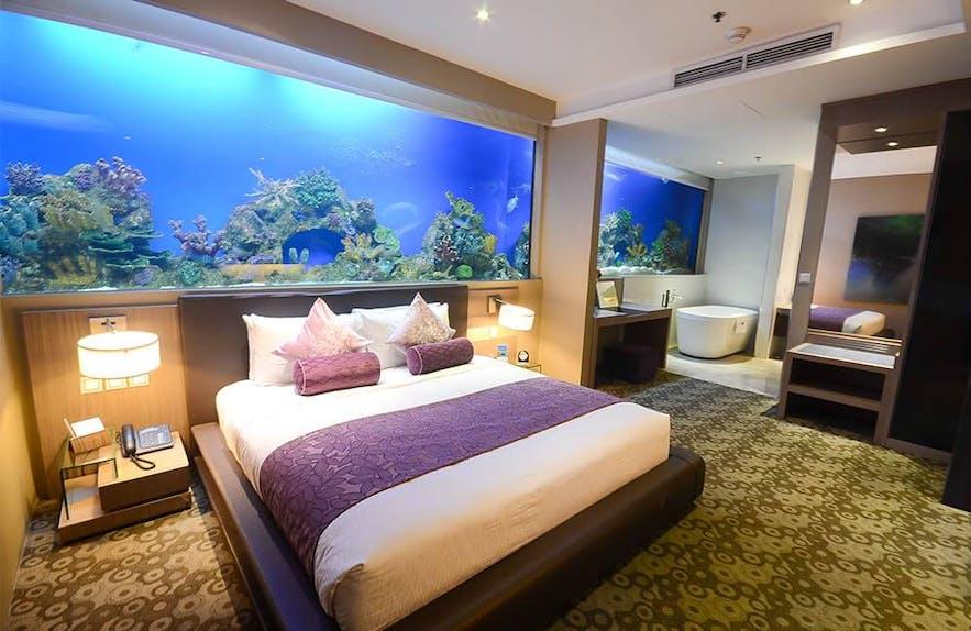 The Aqua Supreme suite in Hotel H2O