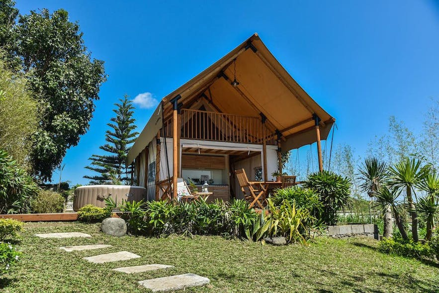 A glamping tent in The Park - Silang Cavite