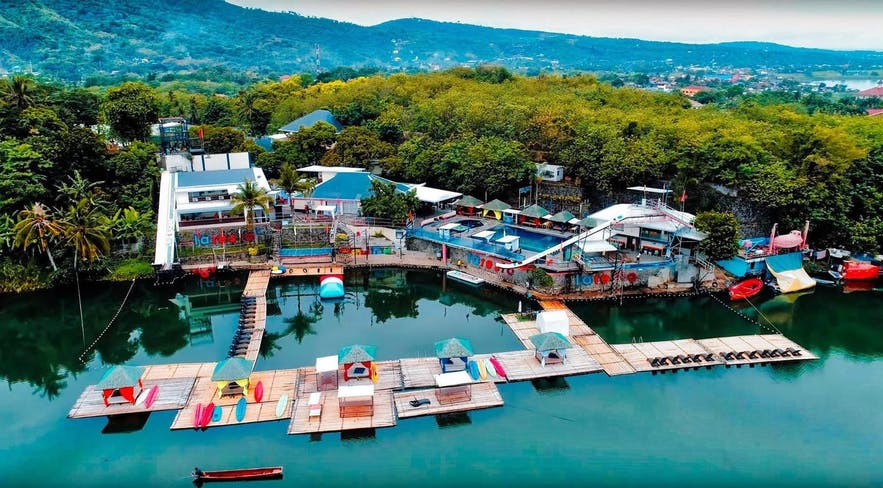 Aerial view of Laresio Lakeside Resort & Spa