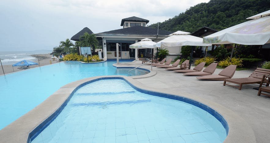 Poolside at Kahuna Beach Resort