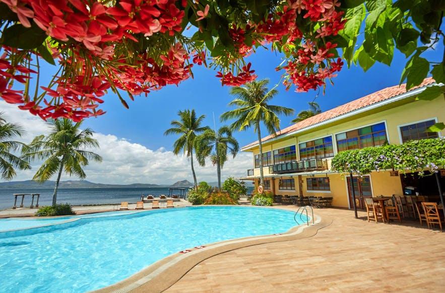 Poolside of Club Balai Isabel