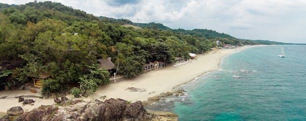 La Luz Beach Resort's beachfront.jpg