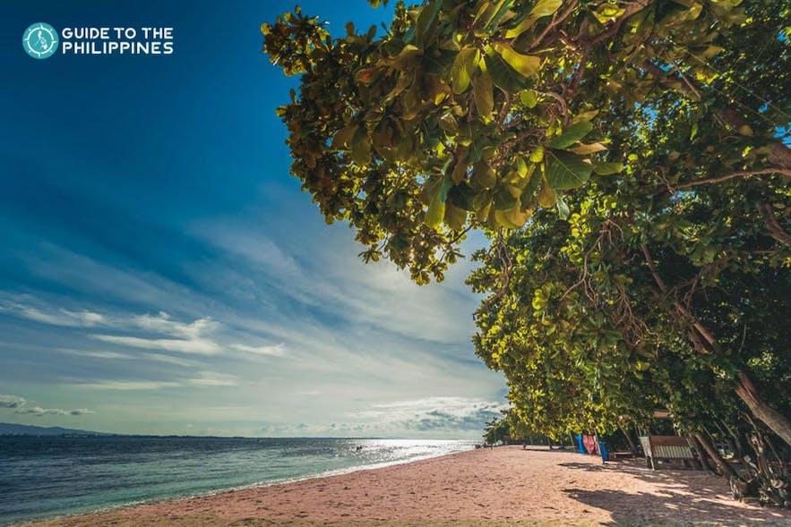 Pink Beach in Zamboanga