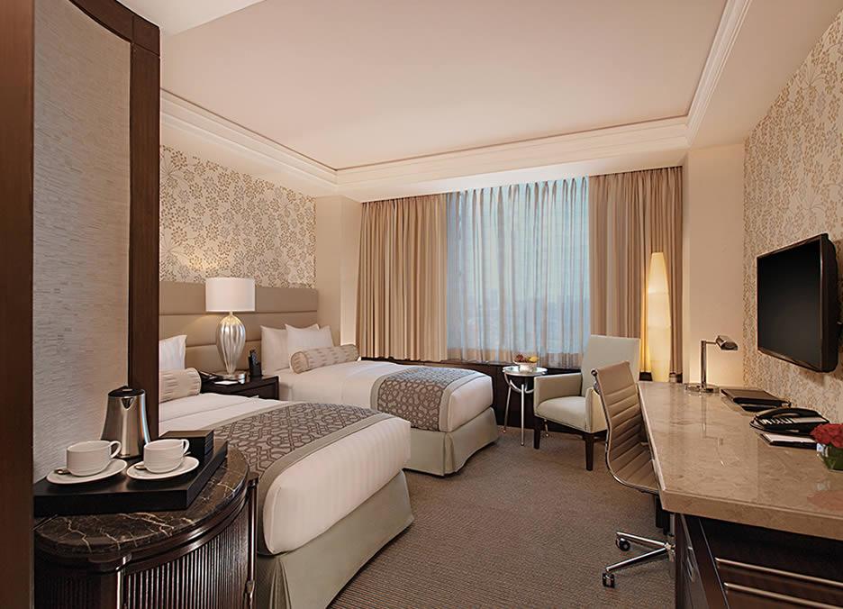 Elegant interiors of Crimson Hotel's bedrooms