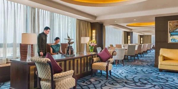 Executive lounge in Crimson Hotel