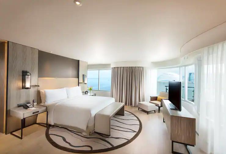 Enjoy your beautiful room in Conrad Hotel