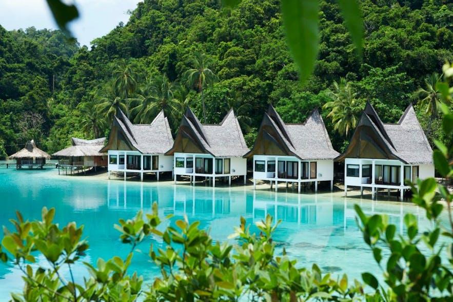 Club Tara Resort's water villas